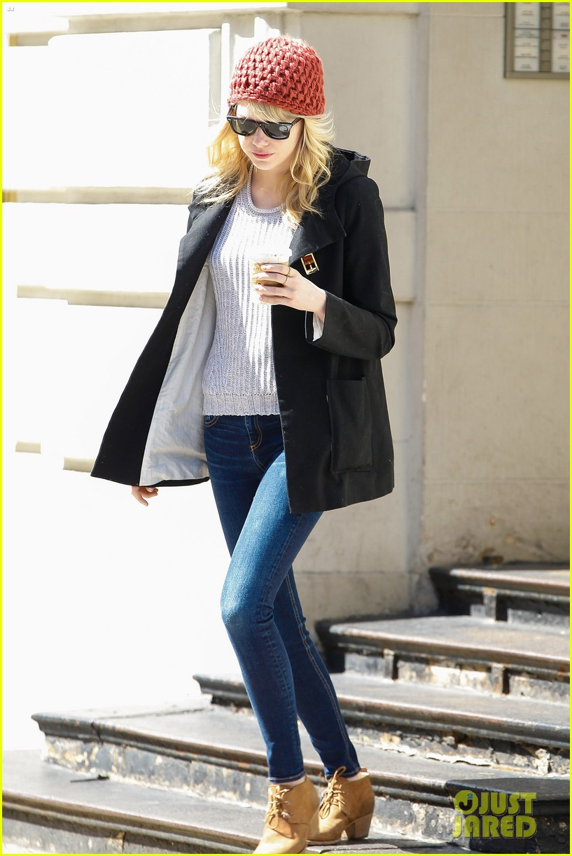 emma stone andrew garfield bubbys coffee couple 17