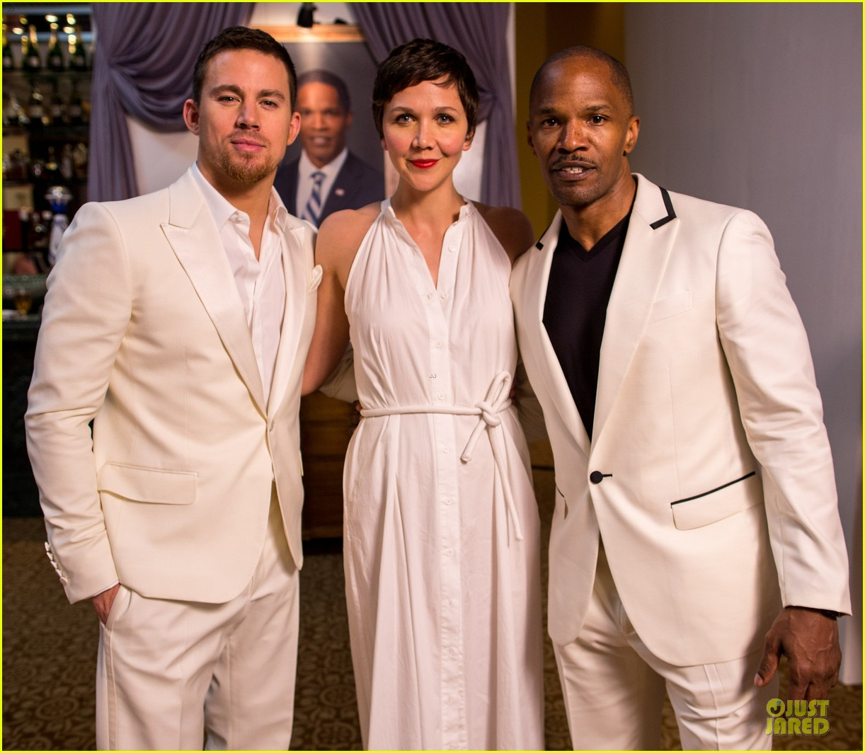 channing tatum jame foxx white house down mexico photo call 22