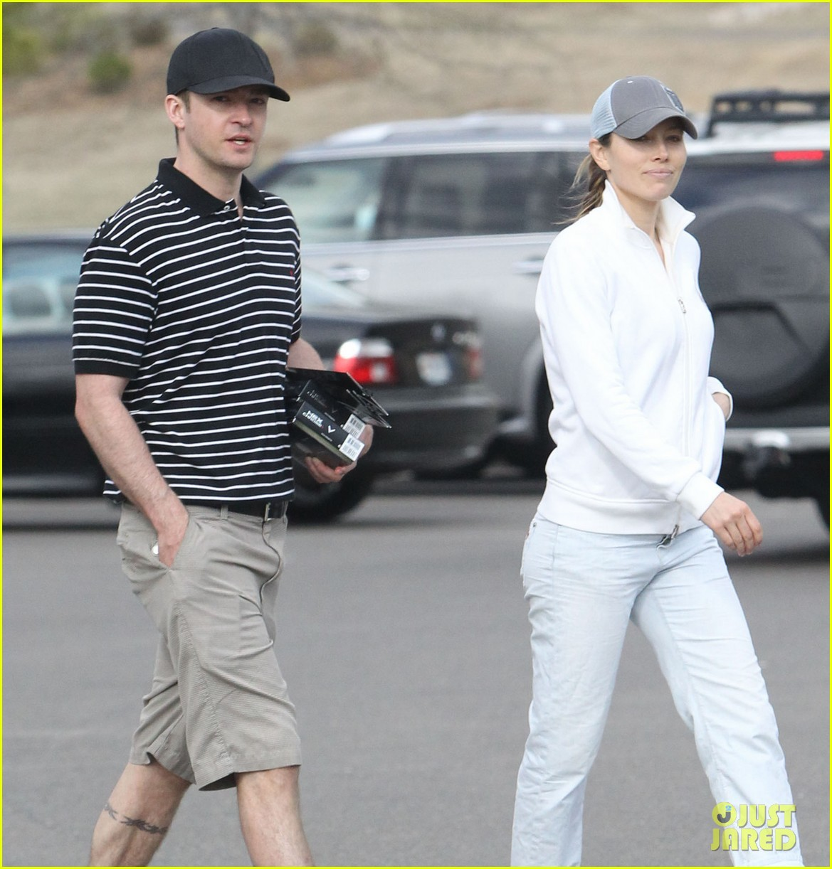 justin timberlake jessica biel golf date duo 12