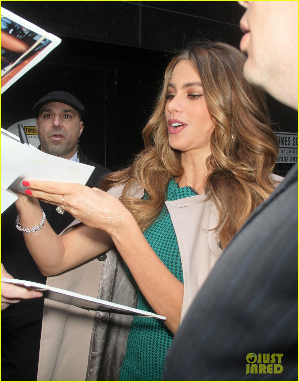 sofia vergara new york city promo appearances 072852682