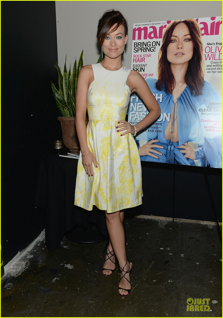 olivia wilde marie claire april cover party 082845850