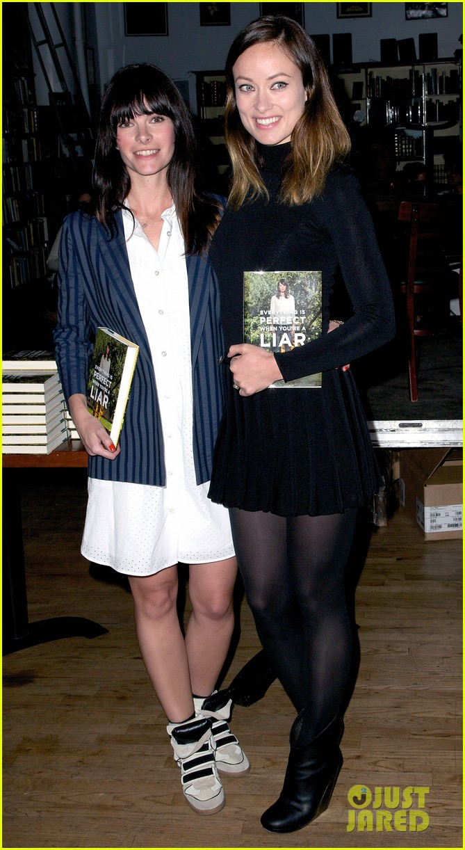 olivia wilde jason sudeikis everything is perfect book launch 012841991