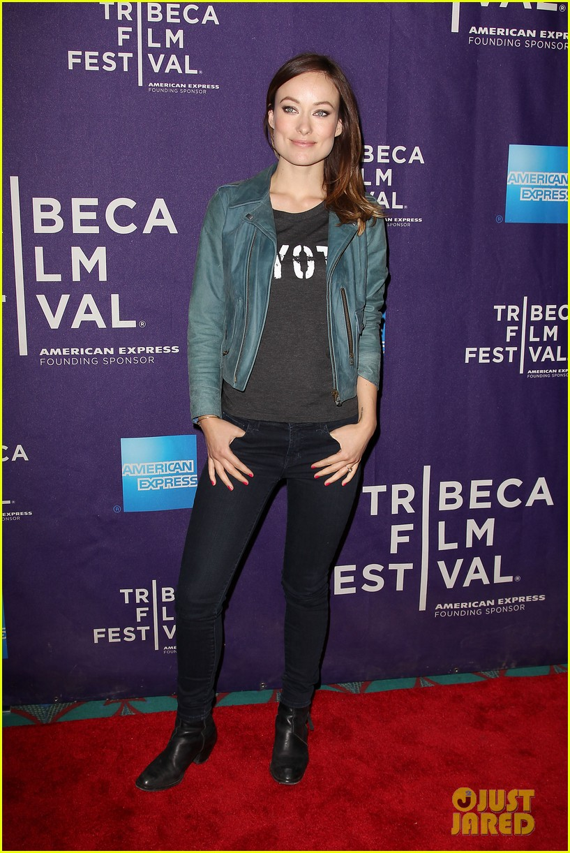 olivia wilde rider and the storm screening at tribeca 28