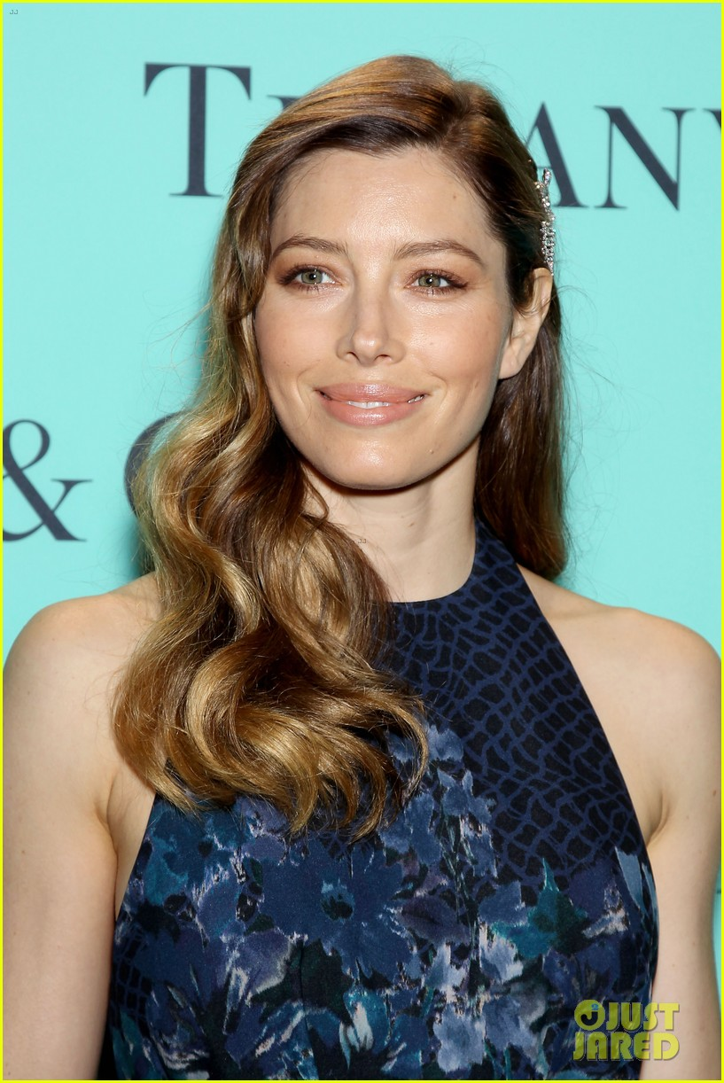michelle williams jessica biel tiffany blue book gala 10