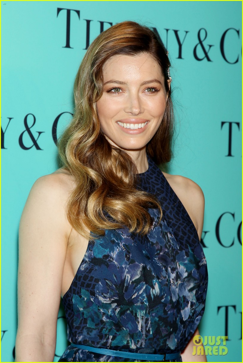 michelle williams jessica biel tiffany blue book gala 18