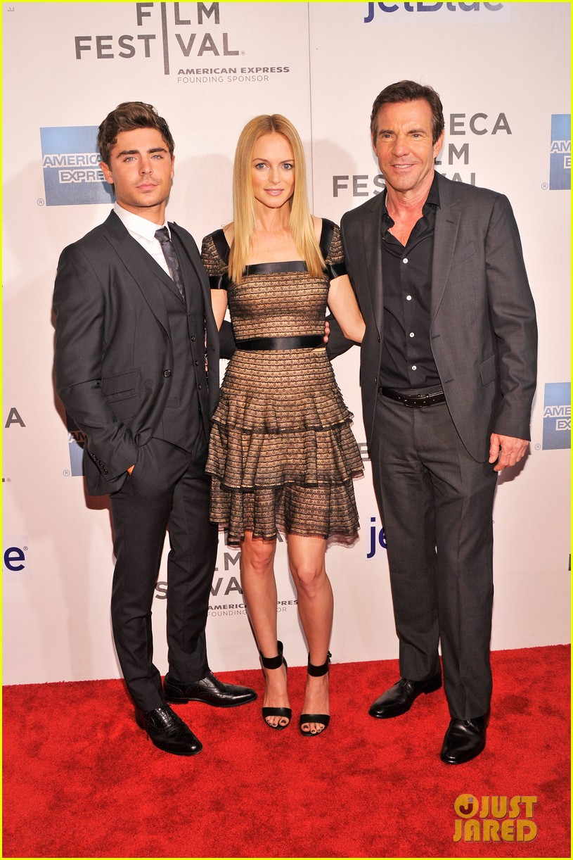 zac efron heather graham at any price premiere 19
