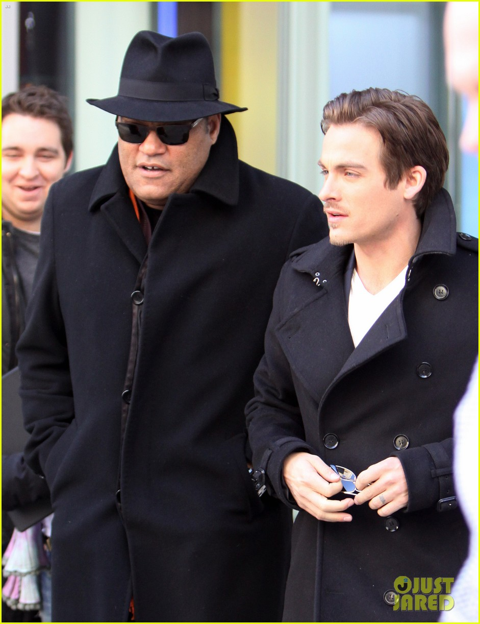 kevin zegers the colony promotion in toronto 01
