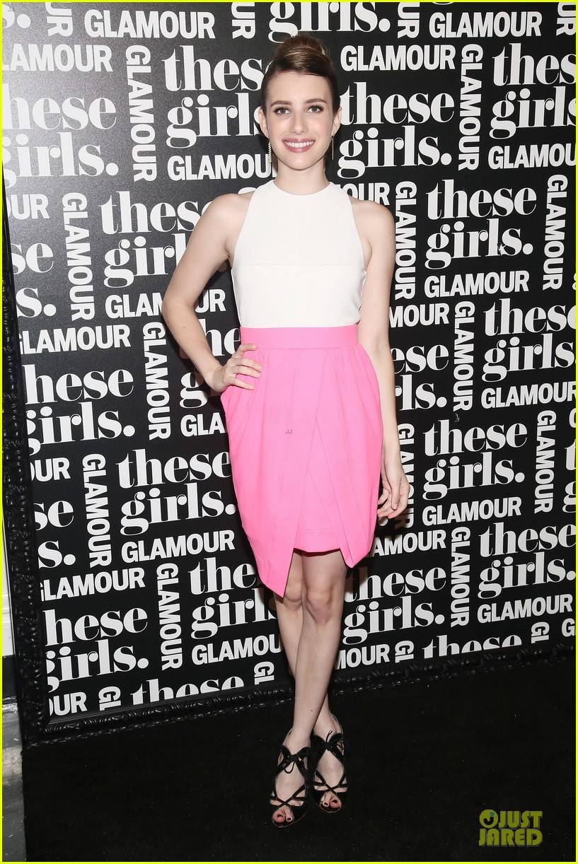 dianna agron emma roberts these girls presentation 11