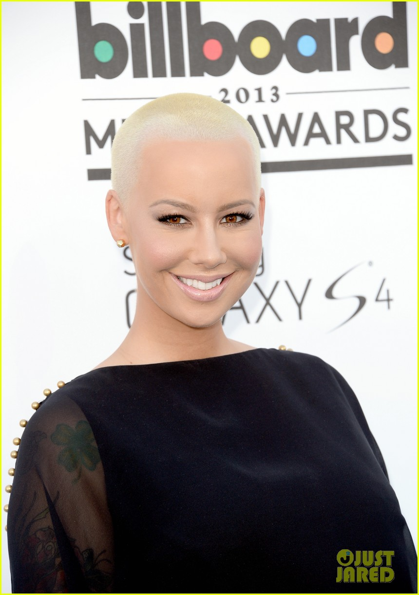 wiz khalifa amber rose billboard music awards 2013 red carpet 012873962
