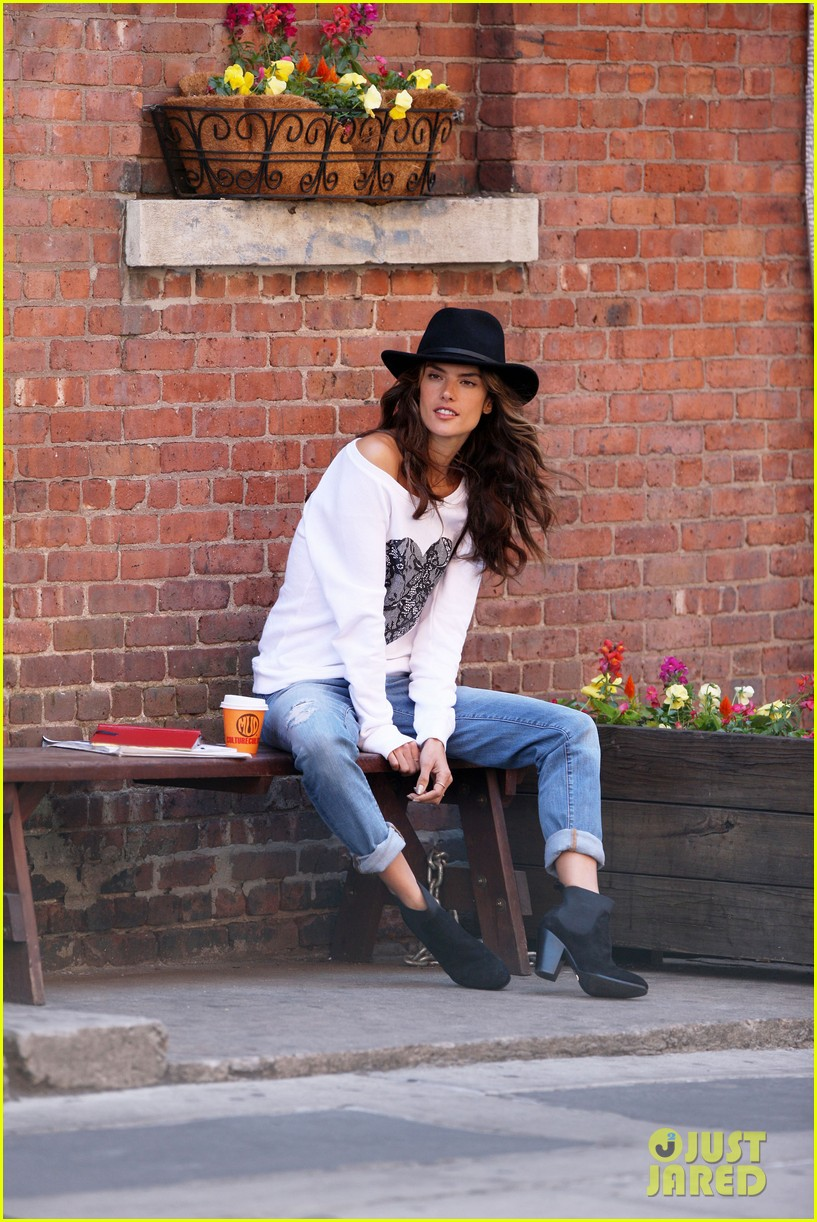 alessandra ambrosio new york photo shoot 11