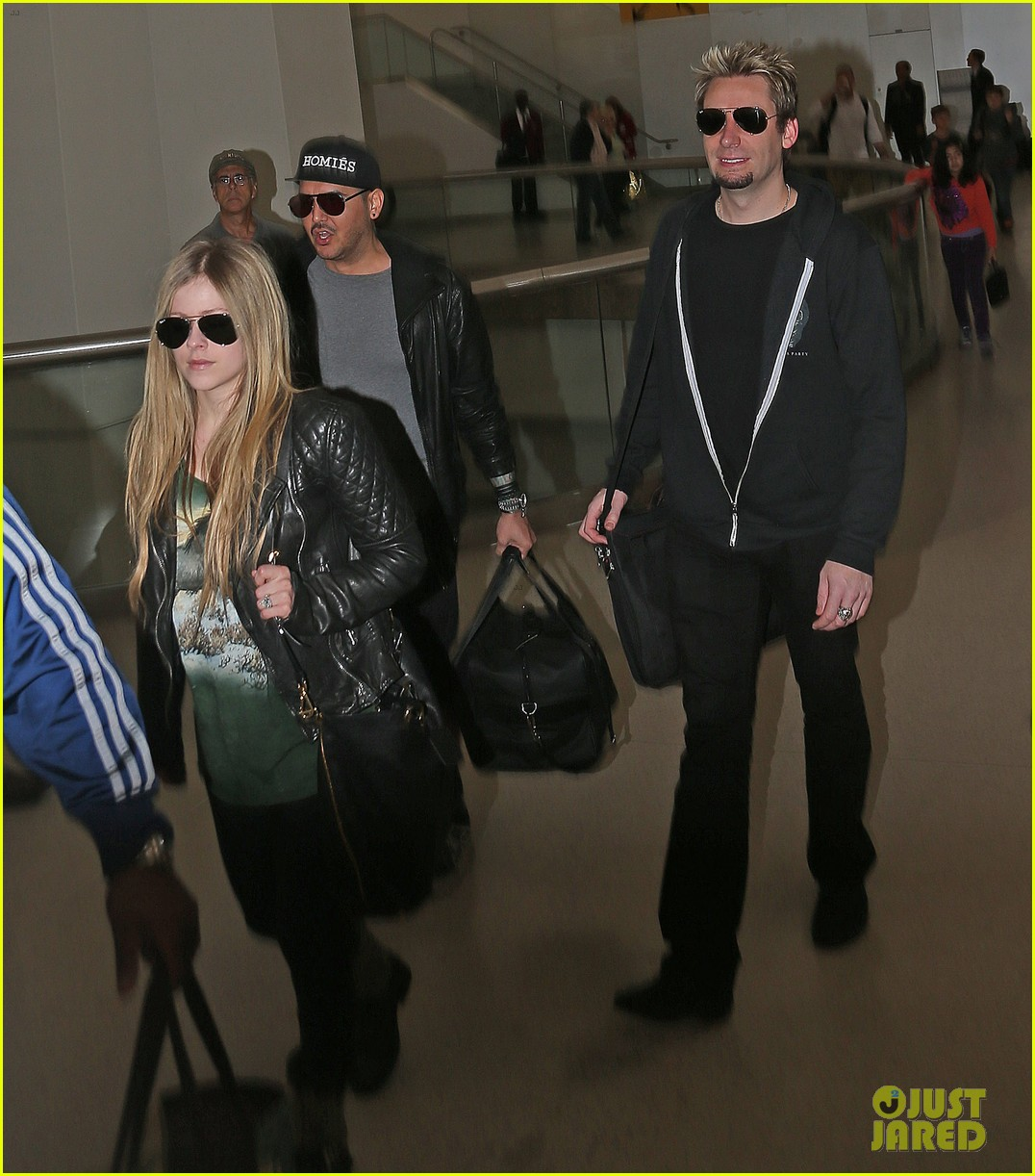 avril lavigne chad kroeger bound for billboard music awards 012873624