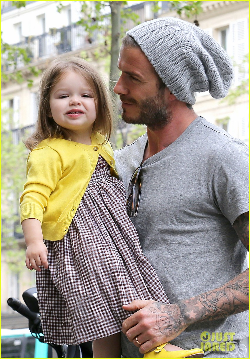 david victoria beckham shopping fun with harper 04