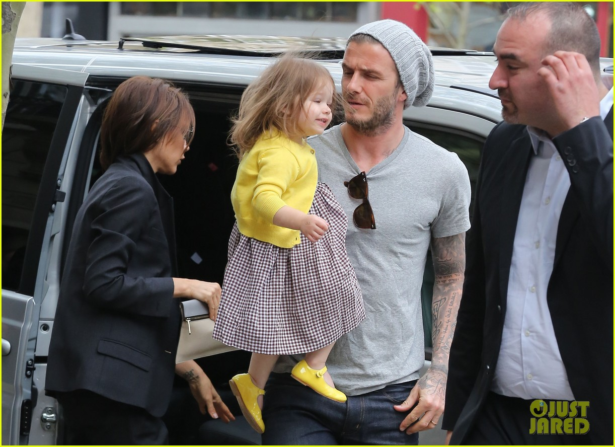 david victoria beckham shopping fun with harper 06