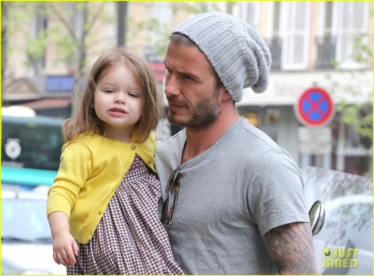 david victoria beckham shopping fun with harper 09