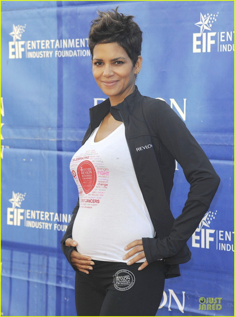 halle berry revlon run for women in la 02