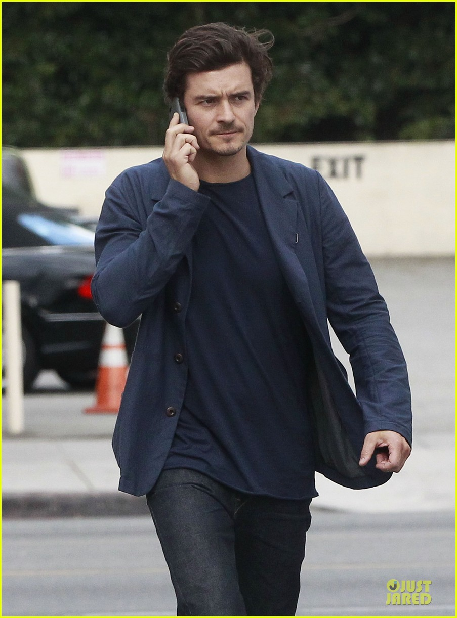 orlando bloom flynn la stroll after miranda kerr met ball 26