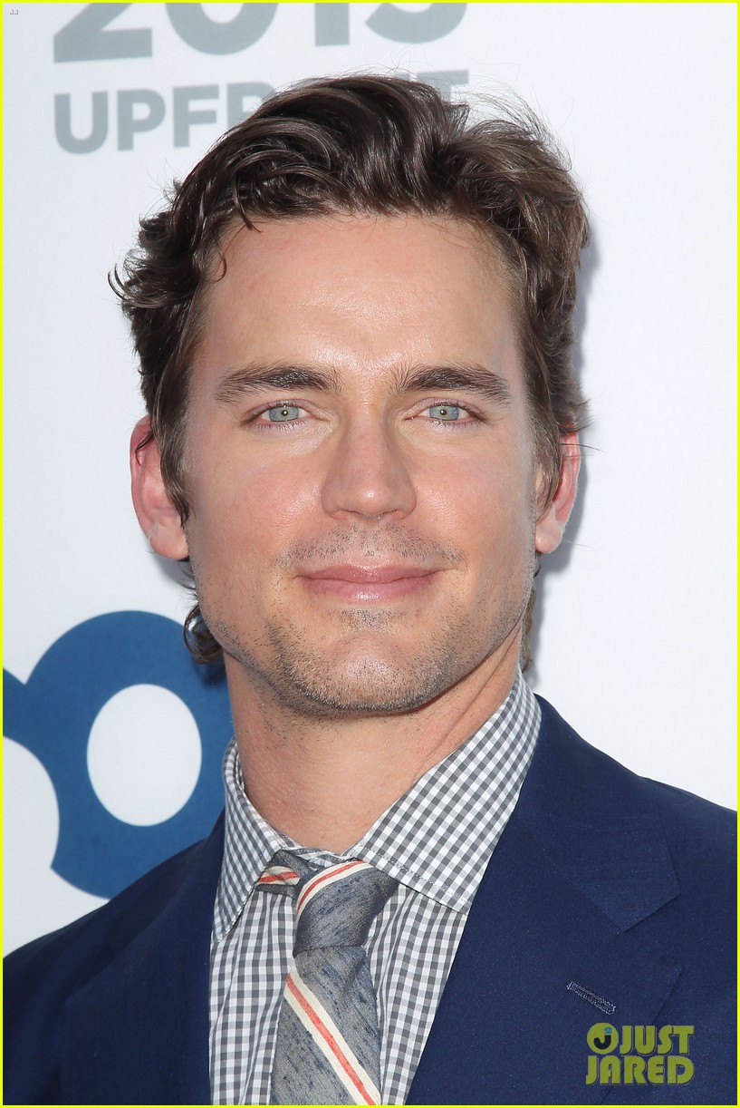 matt bomer aaron tveit usa upfront 2013 red carpet 032872098