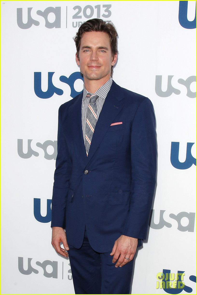 matt bomer aaron tveit usa upfront 2013 red carpet 22