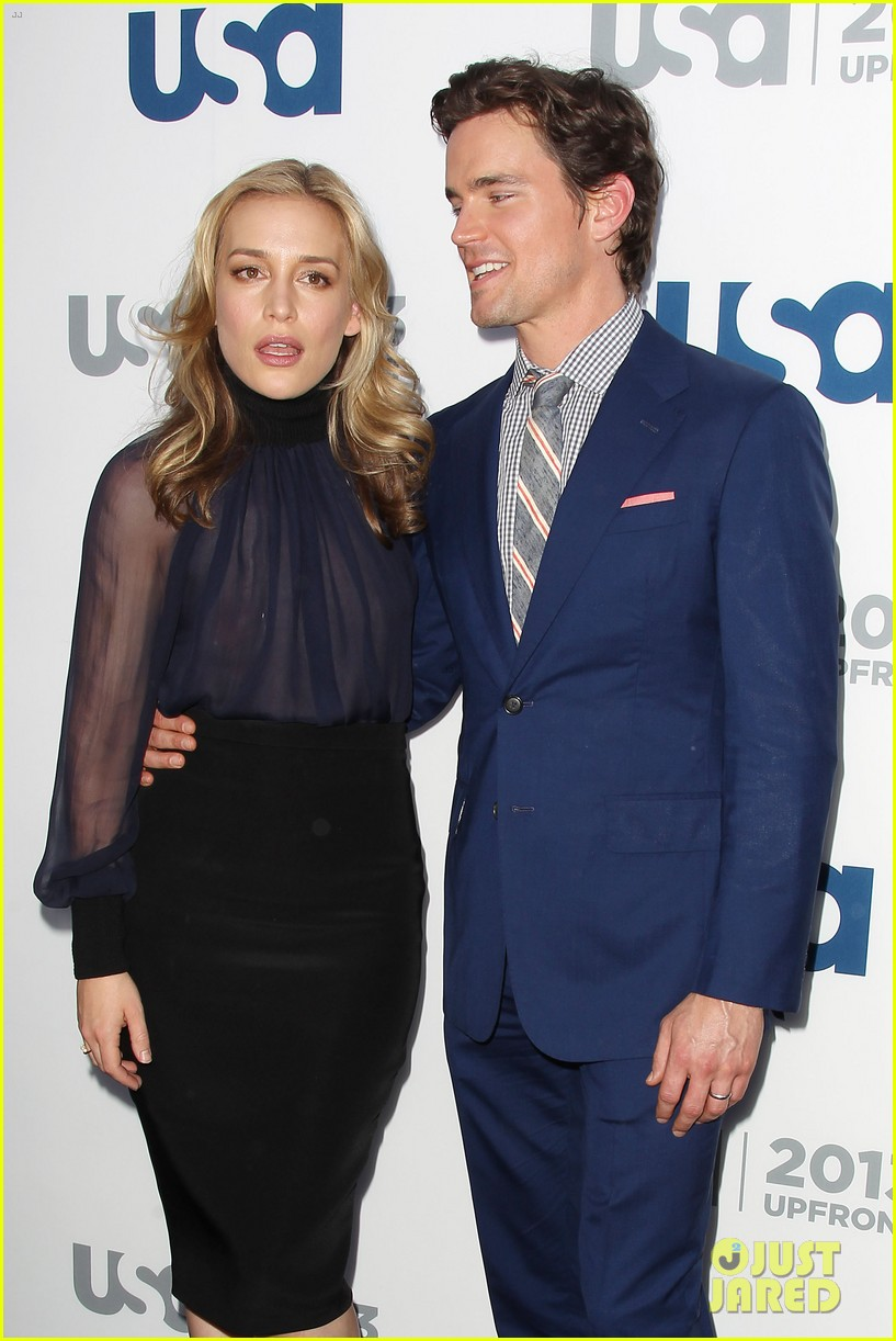matt bomer aaron tveit usa upfront 2013 red carpet 23