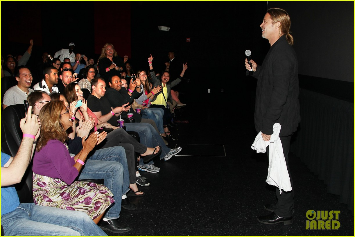 brad pitt world war z moma screening 09