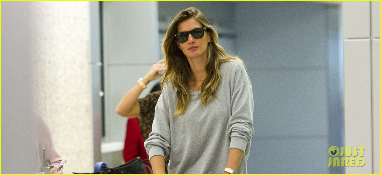 gisele bundchen vivian fly to nyc after hm campaign news 02