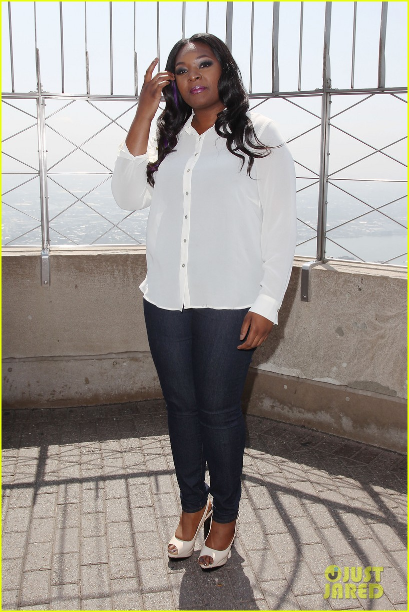 american idol winner candice glover visits empire state building exclusive quotes 07
