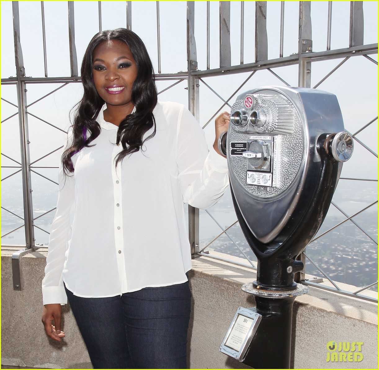 american idol winner candice glover visits empire state building exclusive quotes 292875617