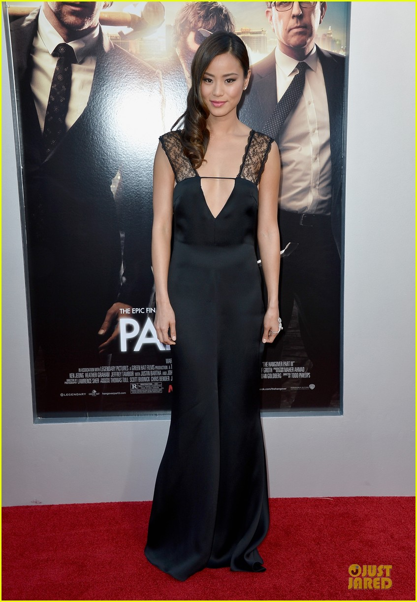 jamie chung naya rivera the hangover part iii premiere 072875277