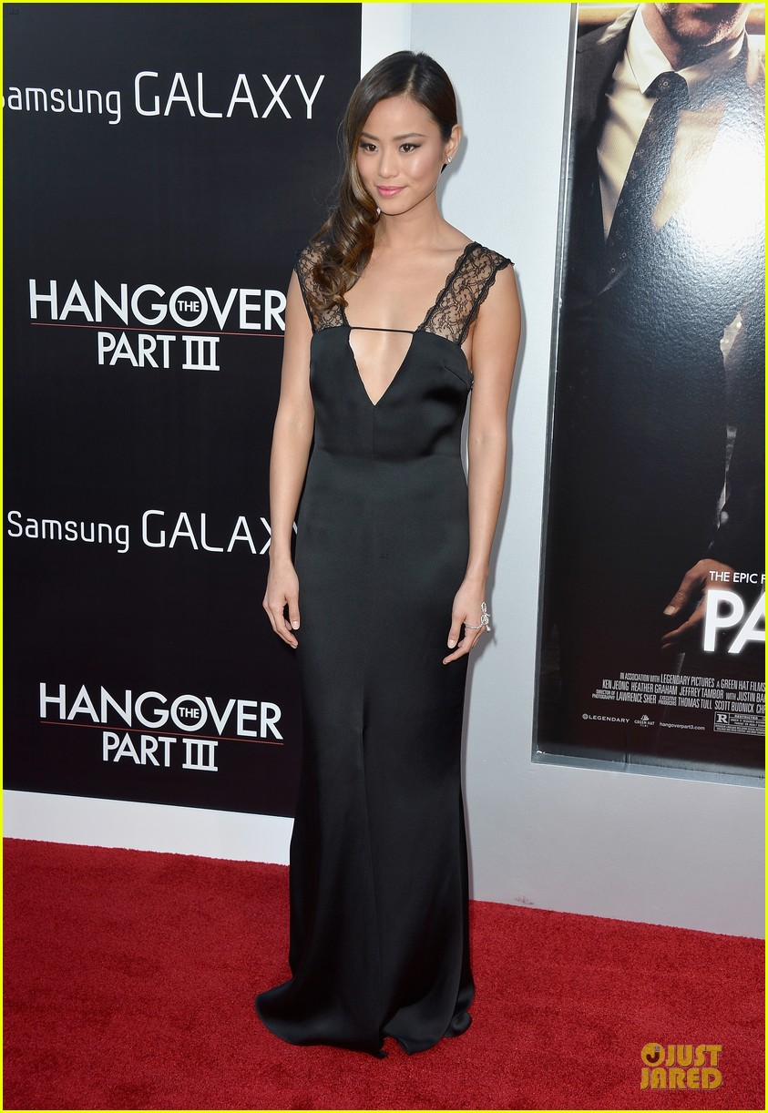 jamie chung naya rivera the hangover part iii premiere 102875280
