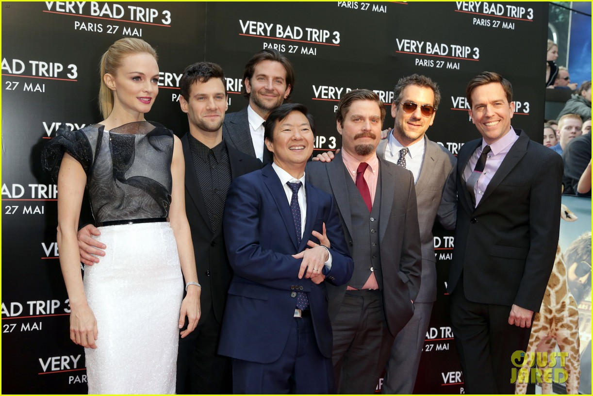 bradley cooper hangover part iii paris premiere with cast 07