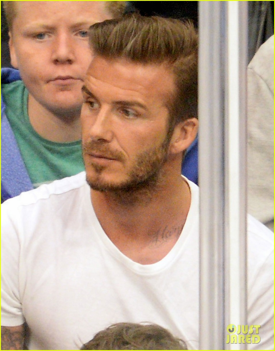 tom cruise david beckham kings game with families 02