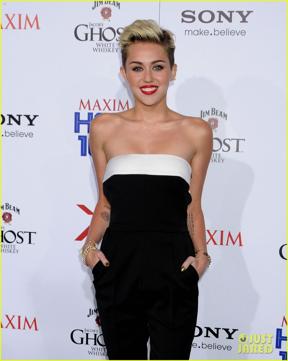 miley cyrus maxim hot 100 party 04