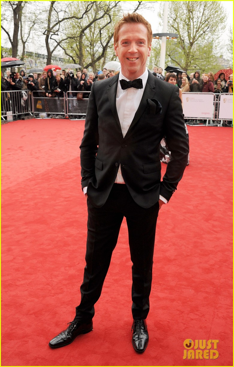 damian lewis laura whitmore british academy television awards 2013 04