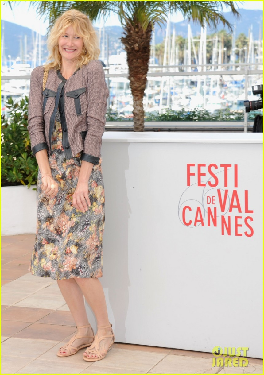 laura dern will forte cannes nebraska photo call 06