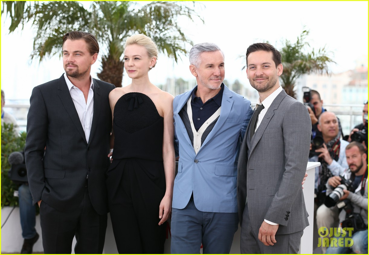 leonardo dicaprio cannes film festival great gatsby photo call 062870747