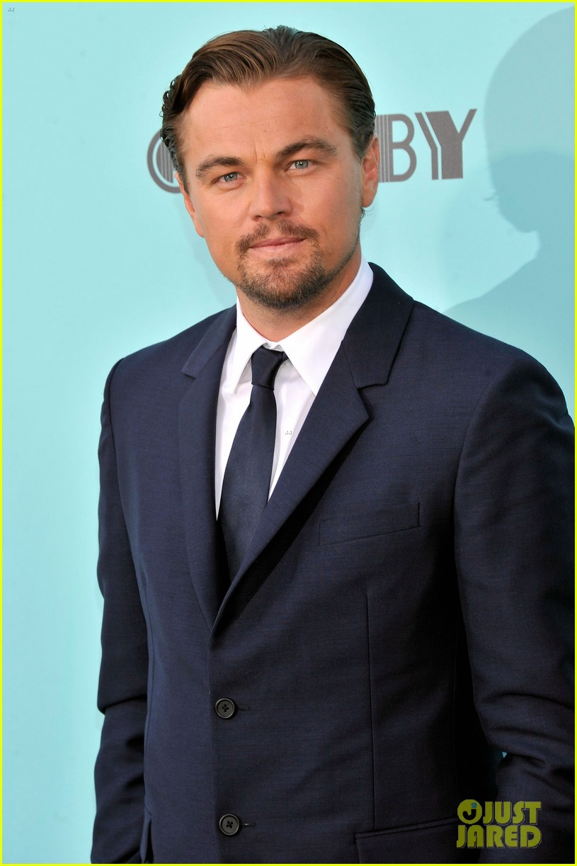 leonardo dicaprio great gatsby new york premiere 102862007