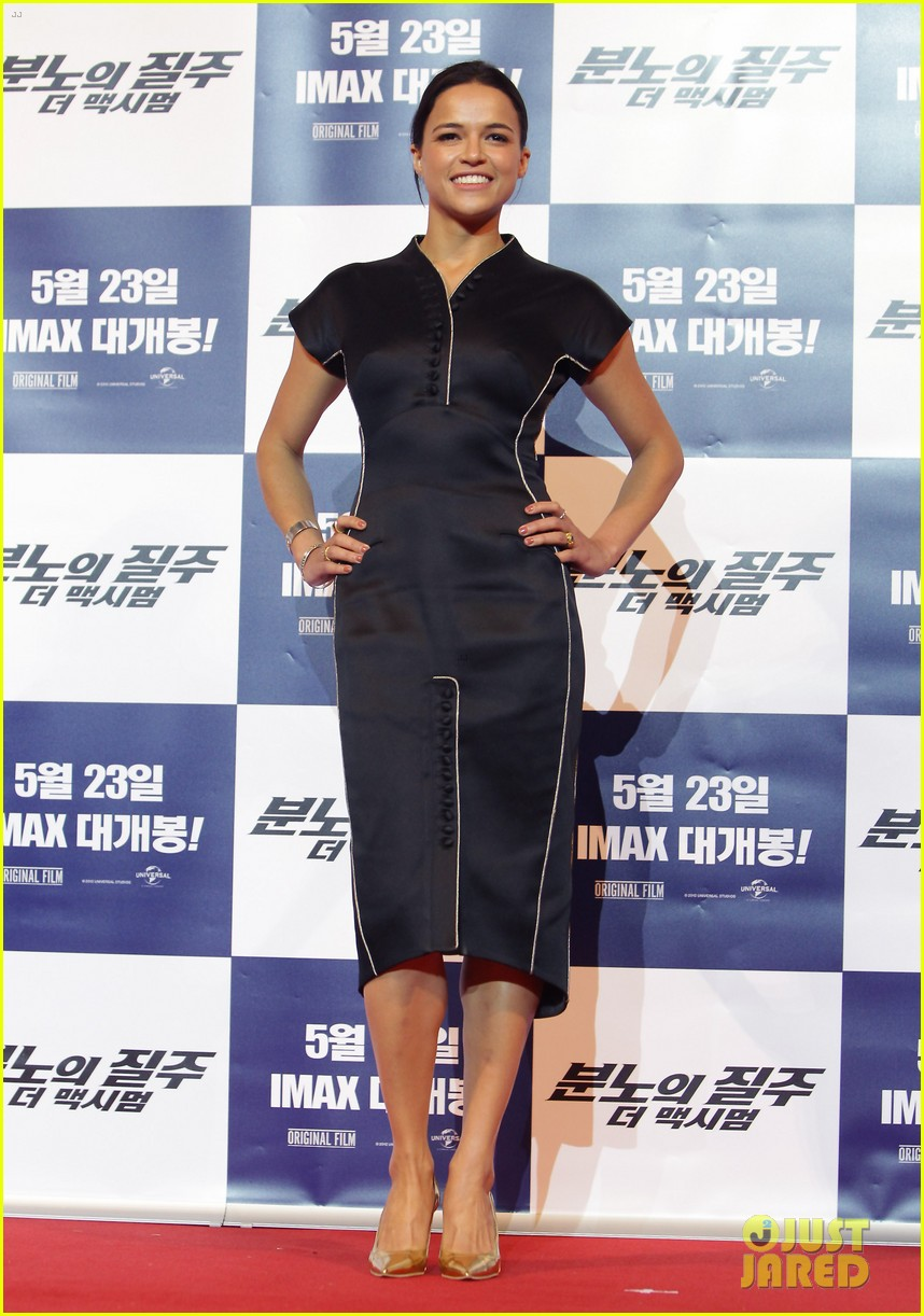 vin diesel michelle rodriguez fast furious 6 seoul press conference 02
