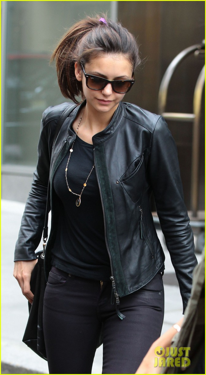 nina dobrev big apple lunch after met ball 14