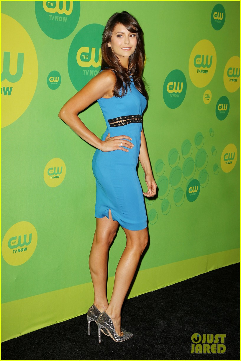 nina dobrev ian somerhalder cw upfronts after breakup 012871695