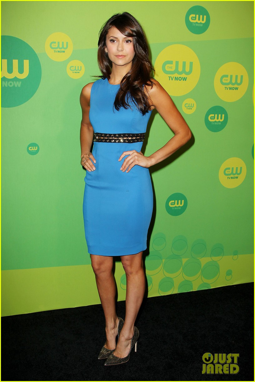 nina dobrev ian somerhalder cw upfronts after breakup 12
