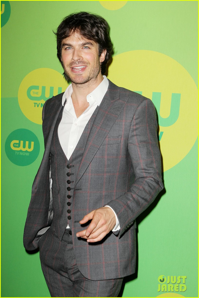 nina dobrev ian somerhalder cw upfronts after breakup 29