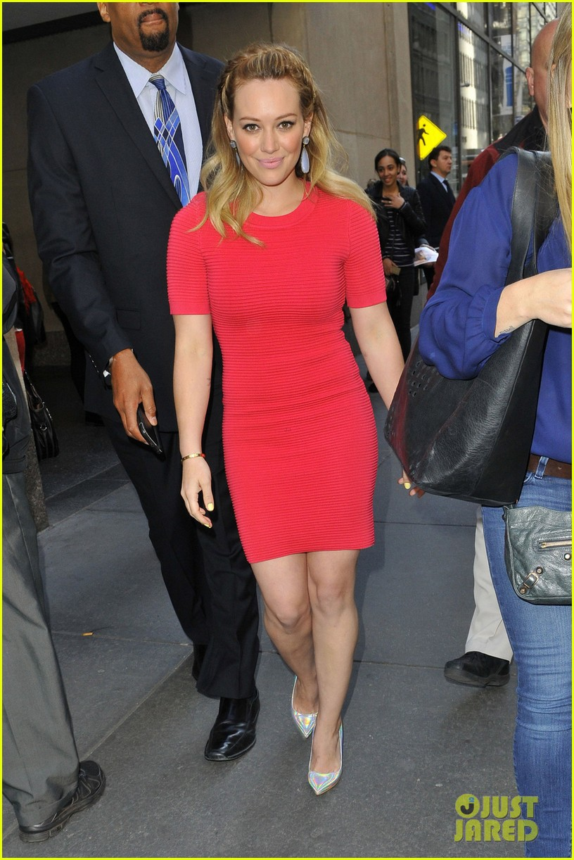 hilary duff today show appearance 01
