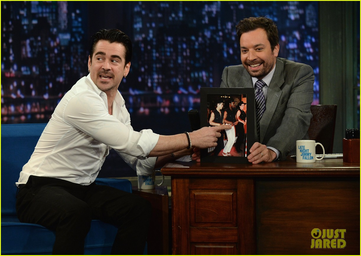 colin farrell late night with jimmy fallon debut 06
