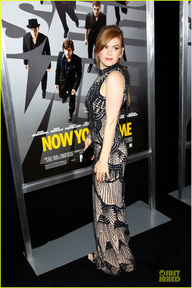 isla fisher jesse eisenberg now you see me premiere 11