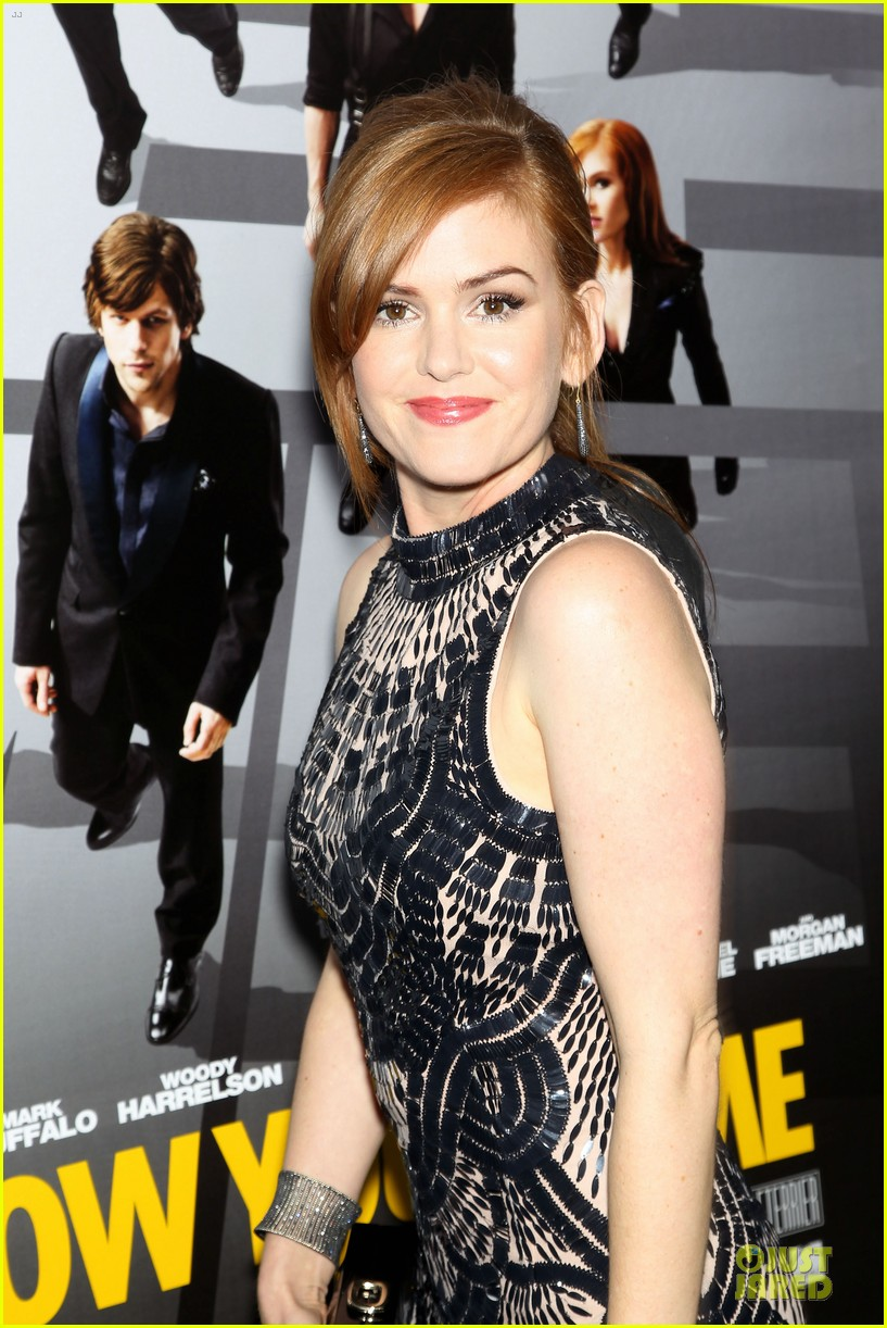 isla fisher jesse eisenberg now you see me premiere 12