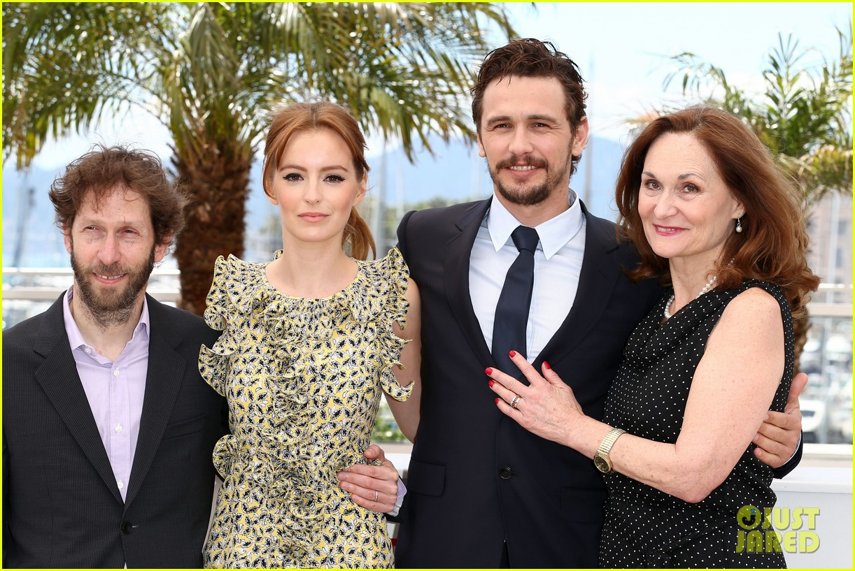 james franco ahna oreilly as i lay dying cannes photo call 182874675