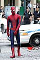 andrew garfield films amazing spider man 2 with mini me 07