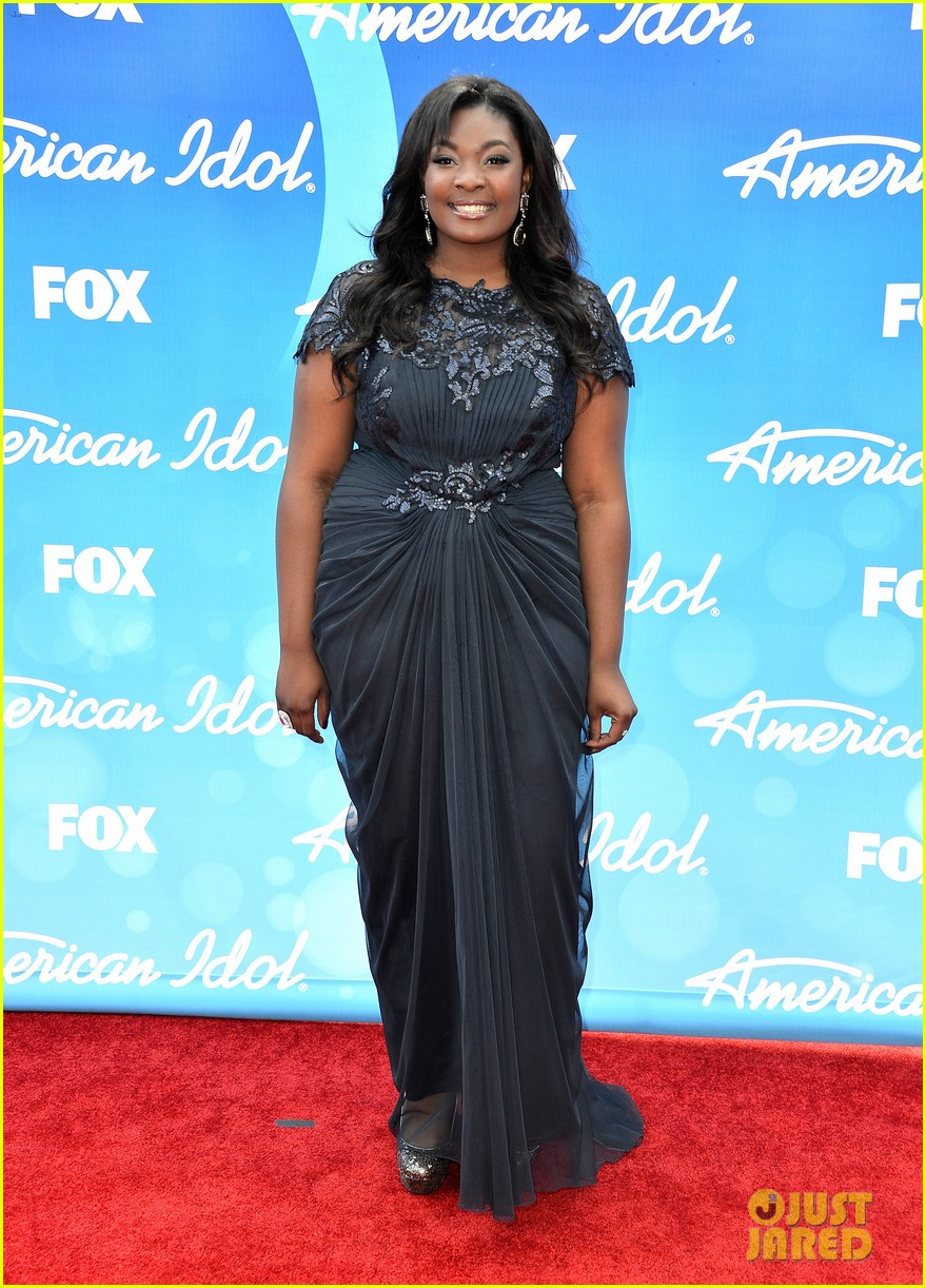 candice glover kree harrison american idol finale red carpet 012871938
