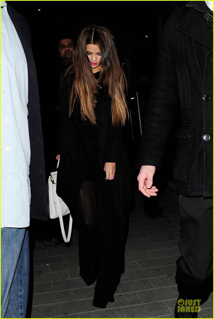 selena gomez jaden smith hakkasan dinner with will smith 012877037
