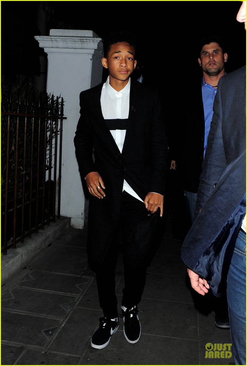 selena gomez jaden smith hakkasan dinner with will smith 07
